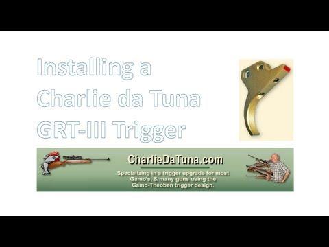 Stoeger X20 - installing a Charlie da Tuna GRTIII trigger