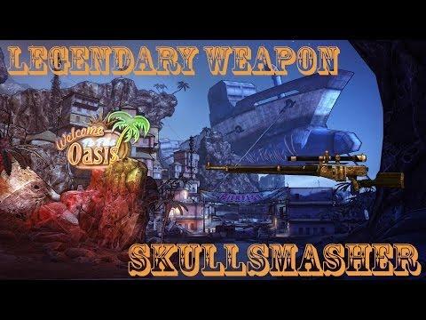 Borderlands 2 легендарные пушки #16 Skullsmasher(Череполом)