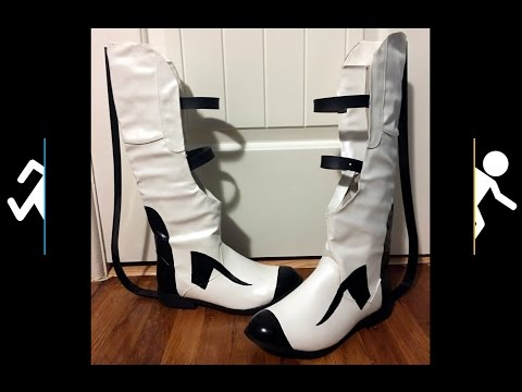 T.A.'s Portal 2 Long Fall Boots Cosplay Tutorial for Amateurs