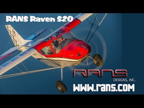 RANS S20 Raven light sport aircraft from RANS Aircraft.