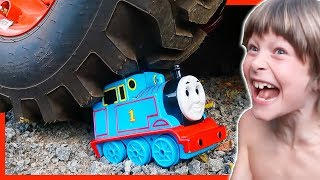 Thomas The Train CRUSH it or KEEP it?!?