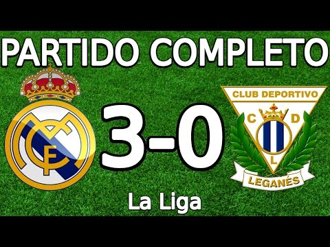 Real Madrid VS CD Leganes 3-0 Partido Completo 06.11.2016 HD (La Liga) (COPE)