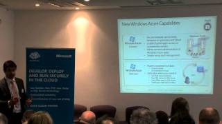 Partnering with the Cloud; Microsoft Azure in Action - Jeremy Barnes, Active Web Solutions (2/2)