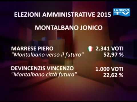 """Servizio la nuova TG """"Comunali Matera"""" 01-06-2015"""
