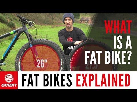 What Is A Fat Bike?   GMBN Explains Fat Bikes