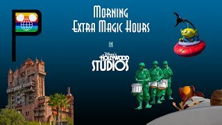 Rope Drop and Morning Extra Magic Hours at Disney's Hollywood Studios - July, 2018