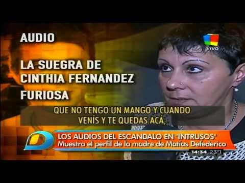 A los gritos: El audio de la mamá de Matías Defederico furiosa con su hijo