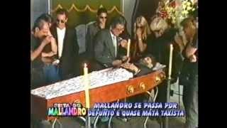 Sergio Mallandro Levanta do Caixão! COMPLETA Pegadinha do Mallandro.