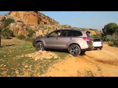 Тест-драйв Subaru Forester 4 (SJ) поколения в Испании