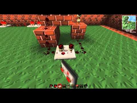 Minecraft Tutorial de Redstone: Nivel Basico a Avanzado HD 720p