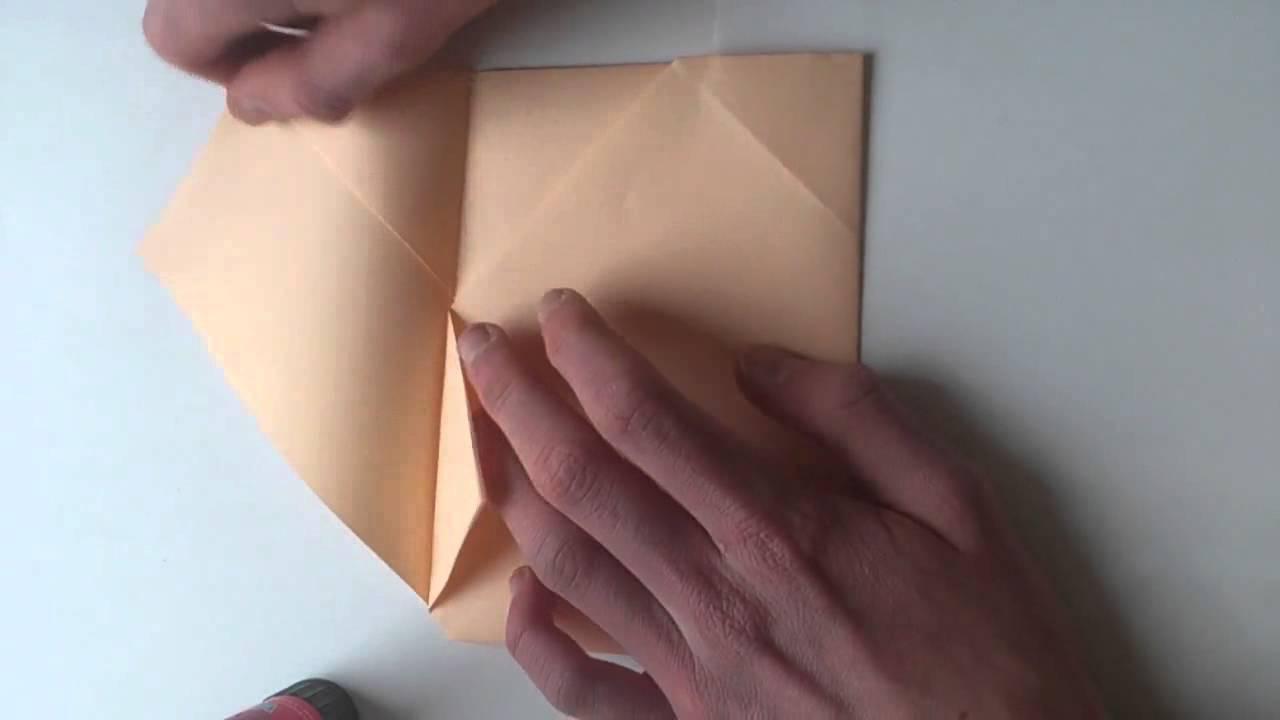 briefumschlag selber machen kuvert basteln youtube. Black Bedroom Furniture Sets. Home Design Ideas