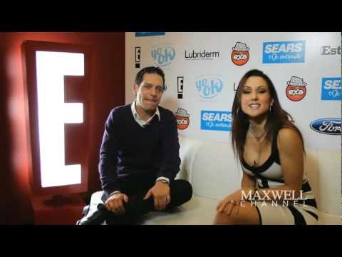 Maxwell - Chica E! Entertainment Television Mxico