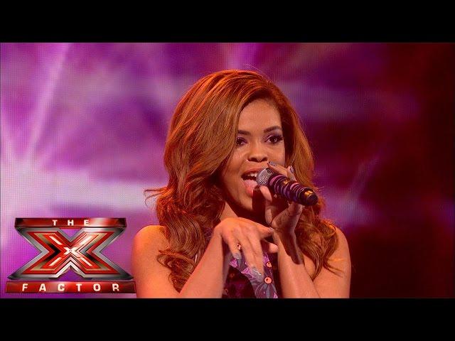 Stephanie Nala sings Blondie's Call Me | Live Week 2 | The X Factor UK 2014