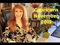 Capricorn November 2013 Astrology Horoscope
