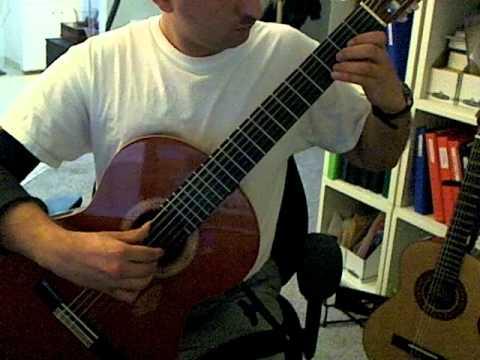 Miguel Llobet - El Testament D'Amèlia (Guitar)