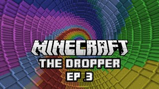 Minecraft: The Dropper Ep. 3 - HUMAN HEART! (w/ Jellyfish407)