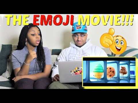 The Emoji Movie Official Trailer - Teaser (2017) REACTION!!!!
