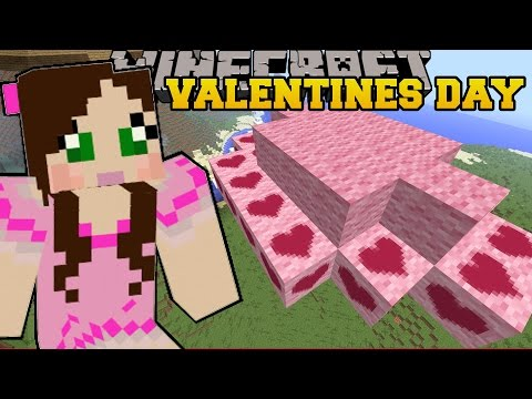 Minecraft: LAND OF LOVE CLOUDS! - VALENTINES DAY - Custom Map [2]