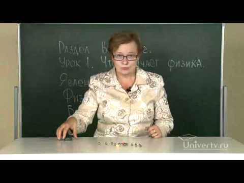Что изучает физика?