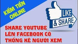 Cách Post Youtube Lên Facebook Hiển Thị Thumbnail Đầy Đủ - Có Thống Kê số người xem Video