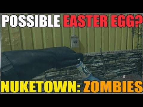 NukeTown Zombies: Possible Easter Egg? Thoughts? (HD)