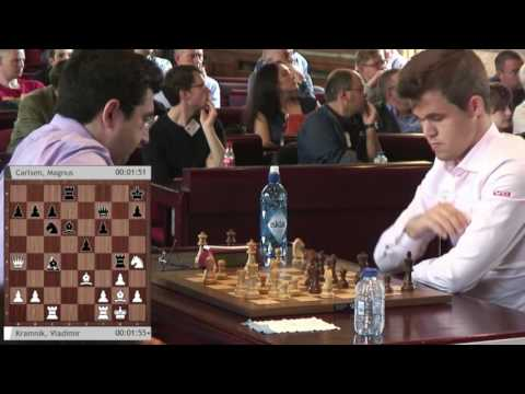 Your Next Move Grand Chess Tour: Blitz Round 5  - Kramnik vs. Carlsen