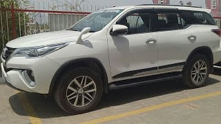 Demo vehicle 2019 Fortuner Review / New SUV / Style ::