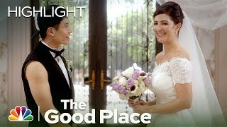 The Good Place - Janet and Jason Get Married! (Episode Highlight)