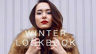 Winter Lookbook- 3 Outfits