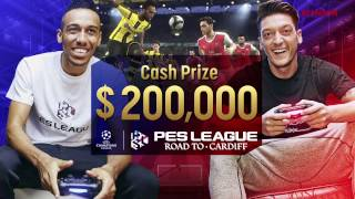 Aubameyang vs PES League player AlexAlguacil_8