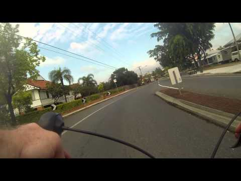 Brisbane Australia Daily Commute - Dornoch Terrace