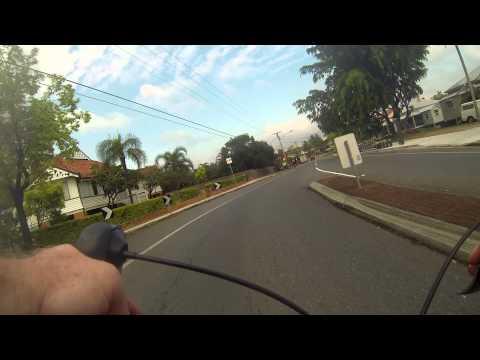 Brisbane Australia Daily Commute - Dornoch Terrace