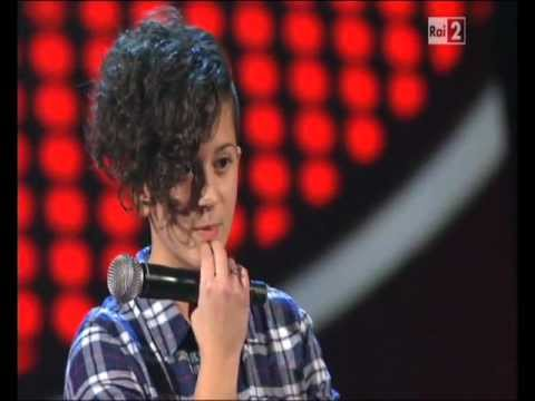VOLAMI NEL CUORE - PAOLA GRUPPUSO (BLIND AUDITION THE VOICE OF ITALY)