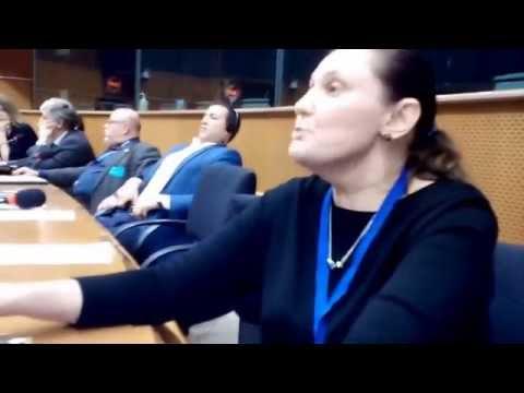 Виступ Тетяни Монтян в Європарламенті // Брюссель, 05.12.16
