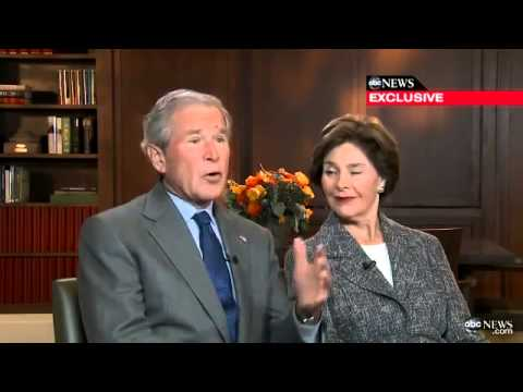 George W Bush has a slip of the tongue about the Boston Marathon Bombings