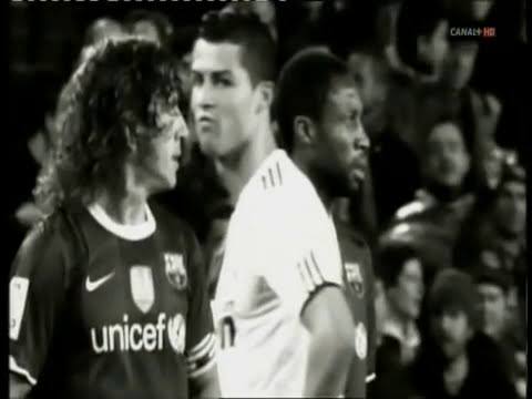 Barcelona vs Real Madrid Peleas ( el dia despues 2010 )