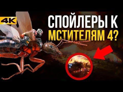 Разбор трейлера Человек-муравей и Оса!