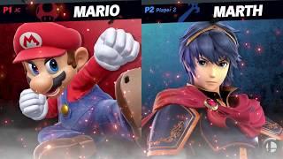 Super Smash Bros. Ultimate Switch Gameplay 7 - Leffen vs. ZeRo - E3 2018 HD