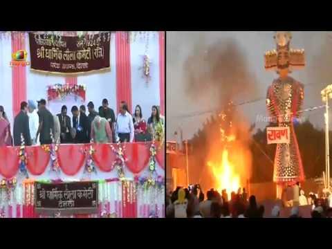 PM Narendra Modi, Sonia Gandhi & Manmohan Singh attend Dussehra celebrations