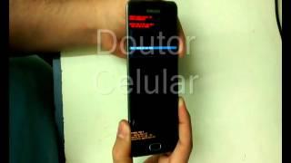 Samsung A5 aplicando hard reset SM A510M DS erro lento travando
