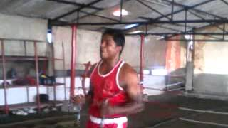 Nisar pm nunchucks practice
