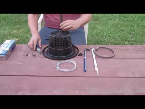How To Make A Top Drip Bucket Hydroponic System