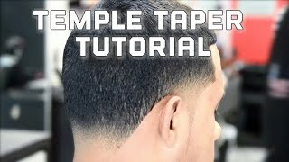 How to do a taper haircut