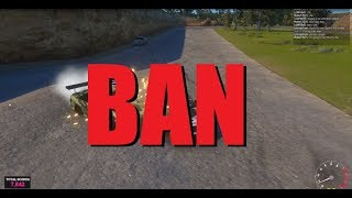 How to get BAN in High Octane Drift