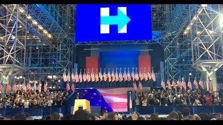 Raw Hillary Clinton Election Night Footage (unedited)