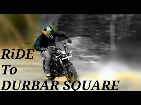 Ride to Durbar Square | Kathmandu to Bhaktapur Ride | BisBro|Nepal|