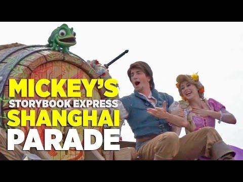 FULL Mickey's Storybook Express Shanghai Disney Parade.mp4