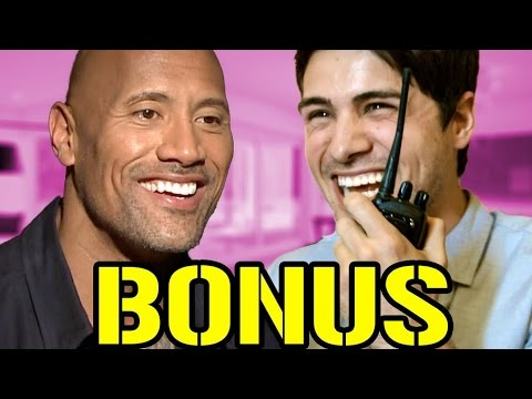 The Rock Interview Prank BONUS
