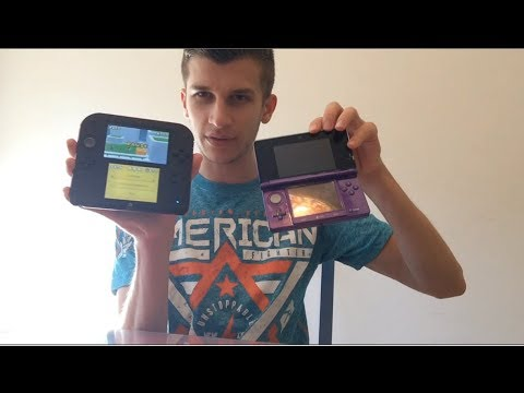 Nintendo 2DS Unboxing and Review!! (2DS vs. 3DS, Impressions, and Gameplay!!)