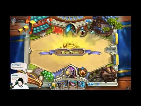 [GR] 16/1/2014 live streaming Hearthstone:heroes of warcraft~Priest is Amazing